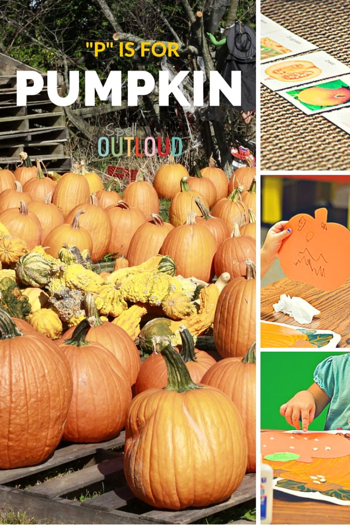 Letter P activities: Pumpkin