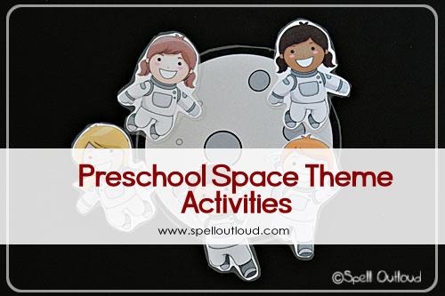 preschool space theme activities