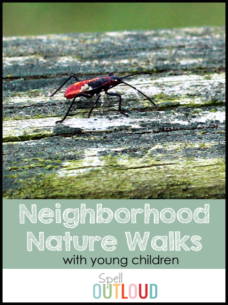 Neighborhood Nature Walks with Young Children