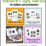 Free Printable I Spy Cards