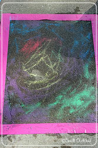 wet chalk