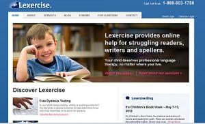 Lexercise website
