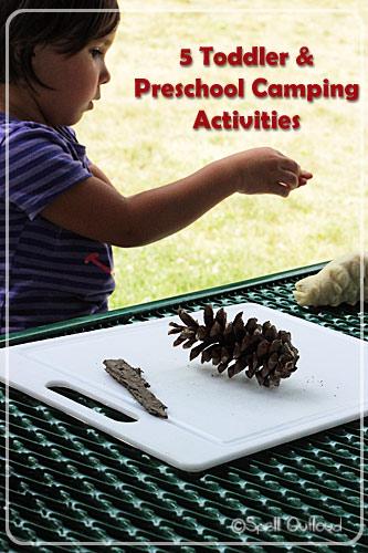 Five Toddler and Preschool Camping Activities