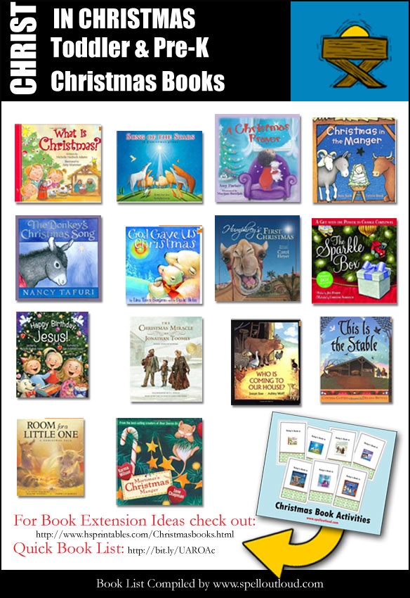 Christmas Books For Toddlers And Preschoolers