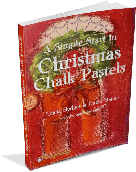 a-christmas-start-in-chalk-pastels-3d-477x600