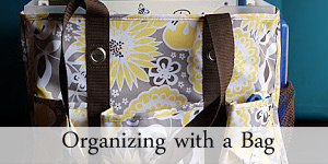 Organizing with a Bag