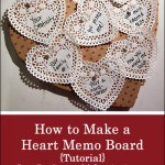 Heart Memo Board Craft