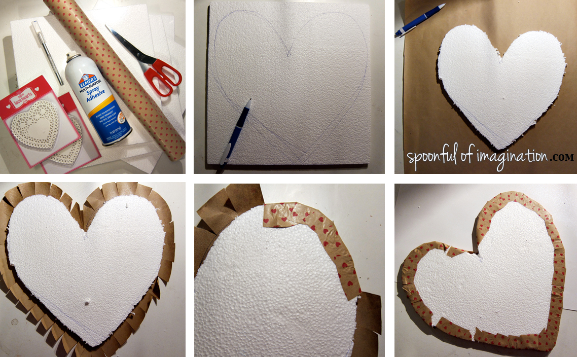 Heart memo board  sequence
