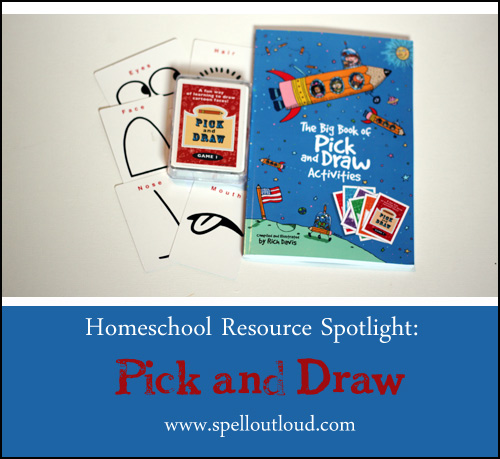 Pick and Draw art activity