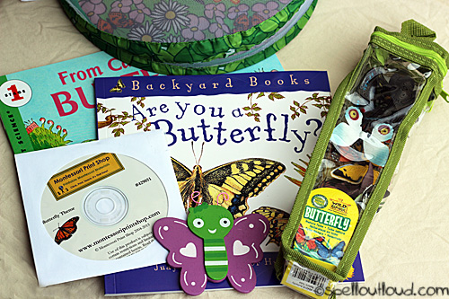 preschool butterfly unit resources