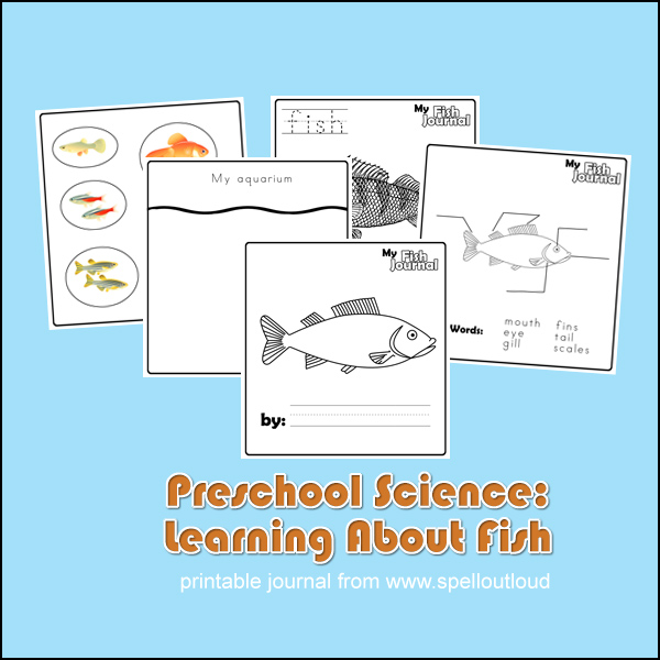 Preschool Fish Journals