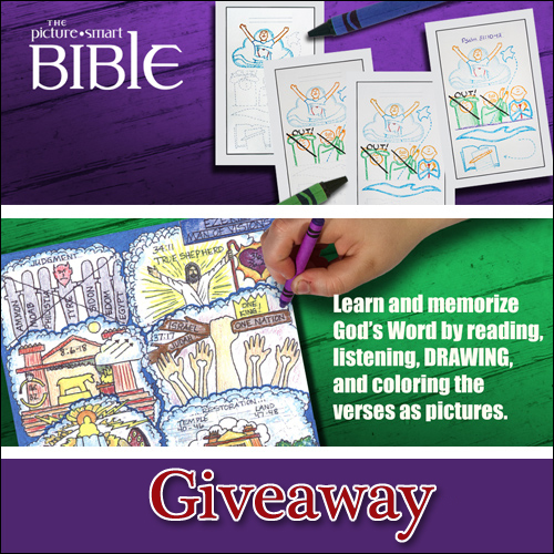 The Picture Smart Bible giveaway