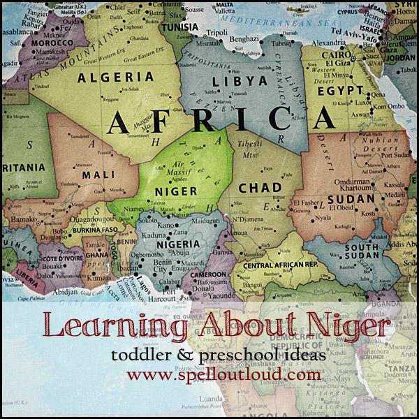 Niger Unit Study for Preschool