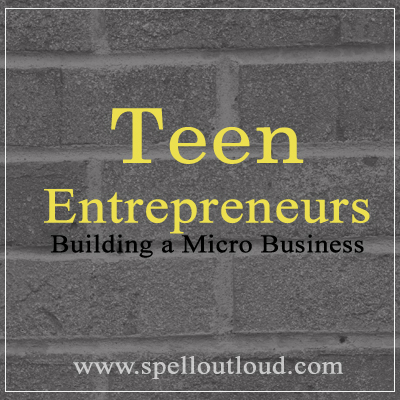 Building a micro business for teens