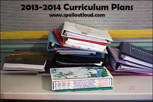 2013- 2014 curriculum plans