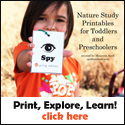 preschool nature printables