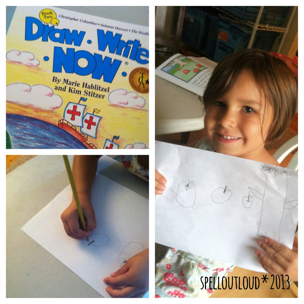 Use Draw, Write, Now for an easy resource for art and writing.