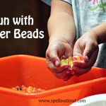 Preschool Activity: Water Beads