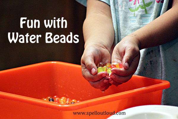 Preschool Activity: Water Beads
