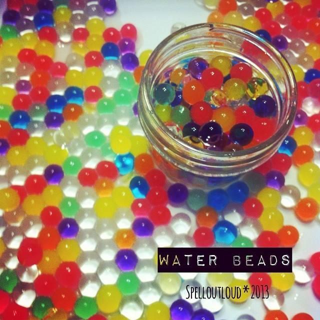 water beads activities