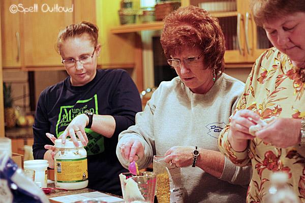 Homemade essential oils gifts-- vapor rub