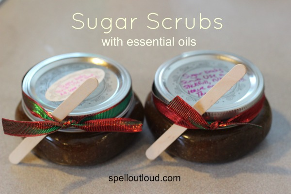 Sugar Scrubs with Essential Oils