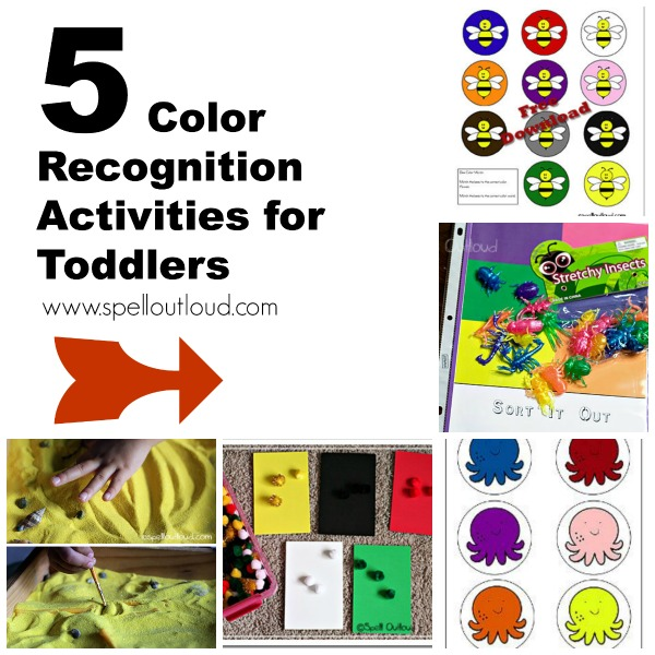 Color Recognition Activities for Toddlers