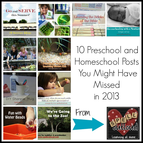 Best Homeschool and Preschool Posts of 2013