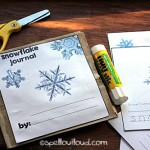 Snowflake journal from Spell Outloud