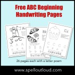 Free ABC Handwriting Pages & Resources