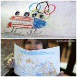 Getting Ready for the Winter Olympics ~Crafts and More