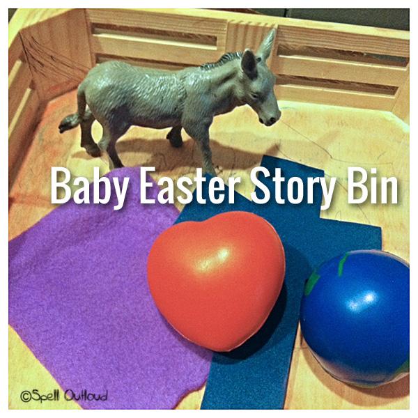 Baby Easter Story Bin