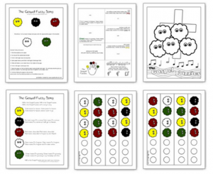 The Wordless Book Printables