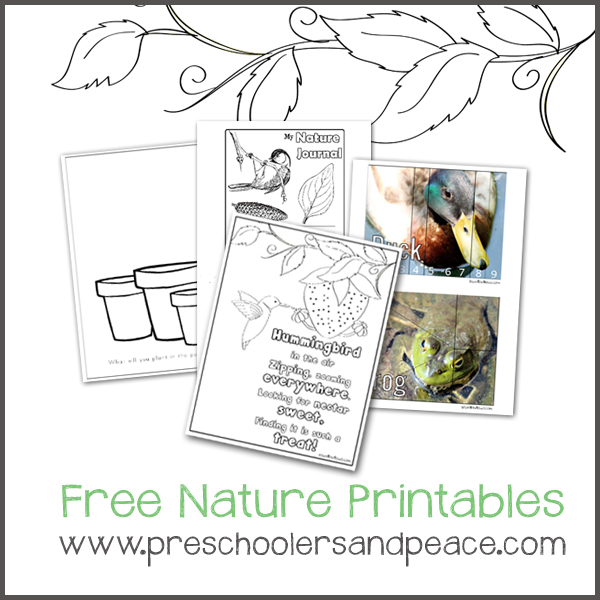 Free Nature Printables
