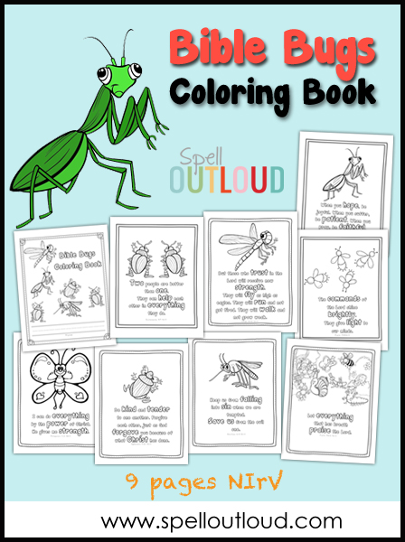 Bible Bugs Coloring Book