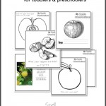 Free printable apple booklet