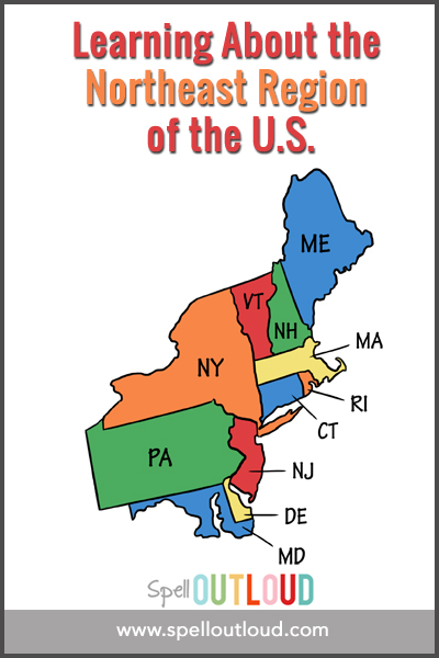 Learning about the northeast region of the U.S.