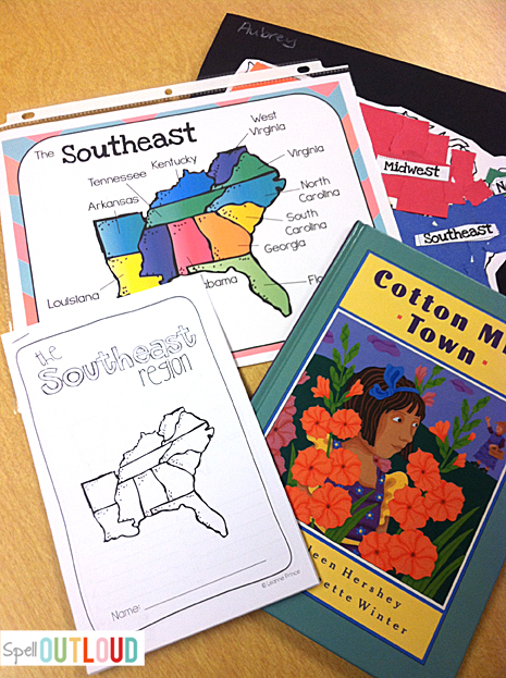 Learning about the southeast region of the U.S.