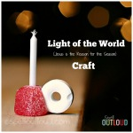 Light of the World Christmas Craft