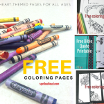 Free Heart & Scripture Coloring Pages for All Ages