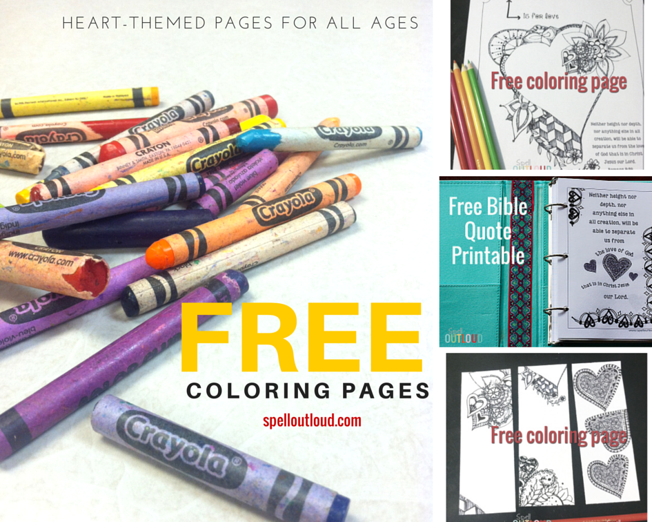 freeheartcoloringpages