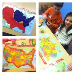 Tactile map learning with Play-Doh