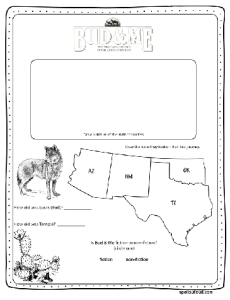 Bud & Me: The Abernathy Boys Coloring Page