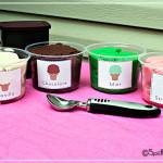 Play dough ice cream flavors