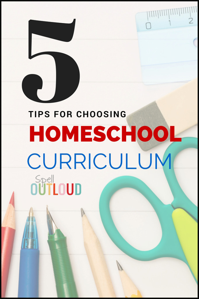 Tips for Choosing Homeschool Curriculum