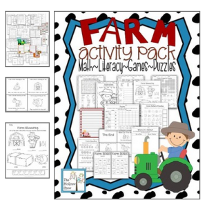 farm printables for preschoolers