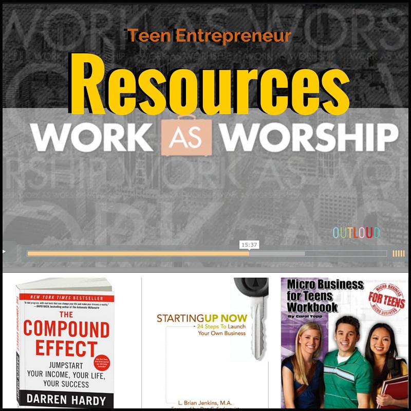 teen entrepreneur resources