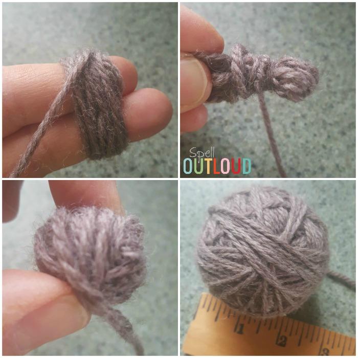 Wool Dryer Balls Steps