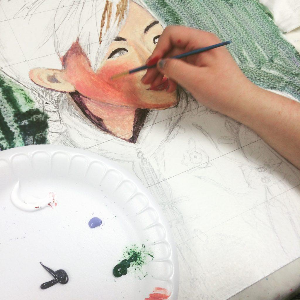 Art with Pastor Art