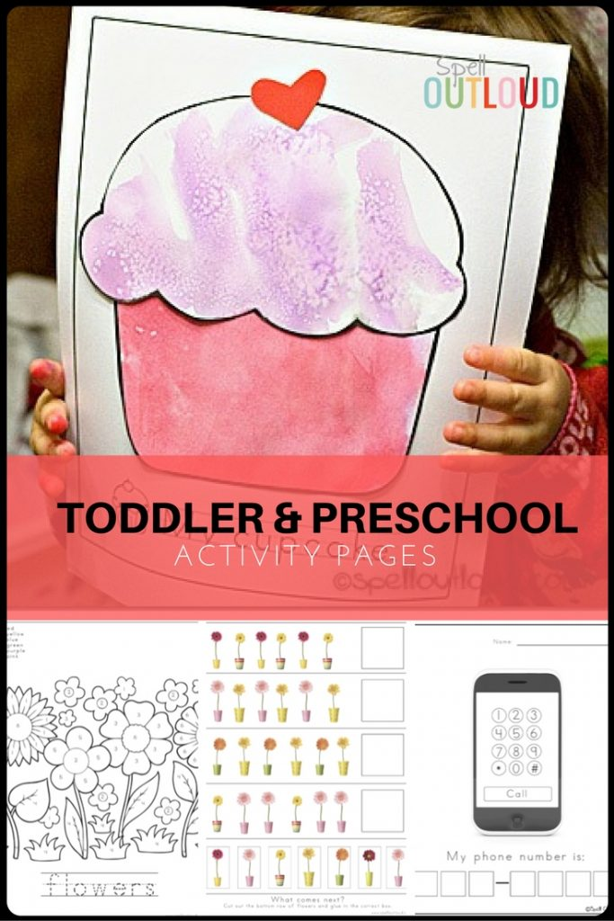 Toddler and Preschool Printables